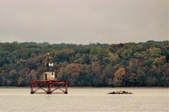 Navigatiehulp op Potomac Royalty-vrije Stock Afbeeldingen
