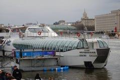 Navigatieseizoen die in Moskou openen Royalty-vrije Stock Fotografie