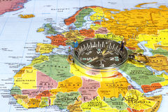 Navigating European Business Stock Photo