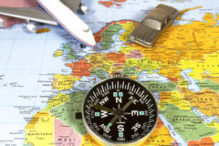 Navigating International Travel Royalty Free Stock Images