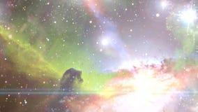 Navigating through nebula and galaxies