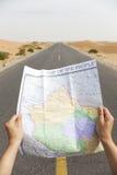 Navigating the roads Stock Photos