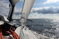 Navigation Photographie stock