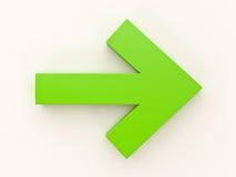 Navigation arrow Royalty Free Stock Photos