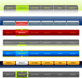 Navigation Bar Design 2 Royalty Free Stock Images