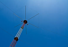 Navigation Beacon for Flight. A navigation tower at a local airport Stock Photos