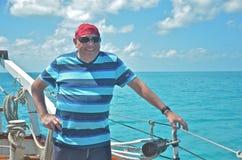 Navigation belle d'homme Image stock