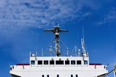 Ship in dock Stock Image