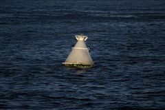 Navigation buoy at the a fairway. Navigation buoy at the fairway Stock Photography