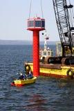 Navigation buoy Stock Photography