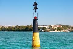 Navigation buoy Stock Images