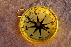 Navigation Compass Stock Photo