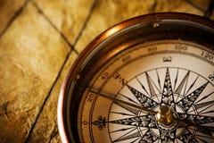 Navigation Compass Stock Photo