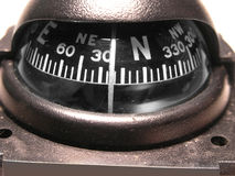 Navigation Compass. Vehicle compass assists in navigation royalty free stock photo