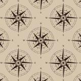 Navigation compass seamless Stock Image