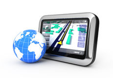 Navigation concept Stock Images