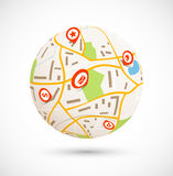 Navigation concept Stock Image