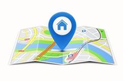 Navigation concept Royalty Free Stock Photos