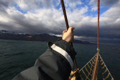 Navigation courageuse photographie stock libre de droits