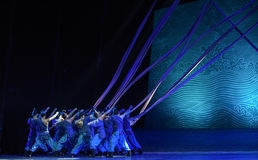 """The navigation crew-Dance drama """"The Dream of Maritime Silk Road"""". Dance drama """"The Dream of Maritime Silk Road"""" centers on the plot of two royalty free stock photos"""