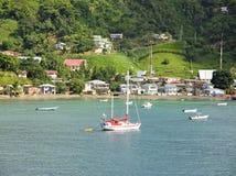 Navigation d'île du Tobago Photographie stock