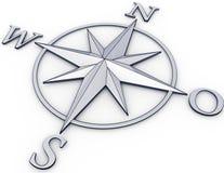 Navigation. 3D ilustration of a navigation concept Royalty Free Stock Image