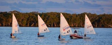 Navigation dans l'Australie de la Gold Coast Queensland Images stock