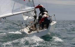 Navigation dans le méditerranéen   Image stock