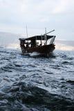 Navigation dans le musandam Photographie stock