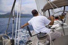 Navigation dans les tropiques Photo stock