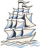 Navigation de bateau Photo stock
