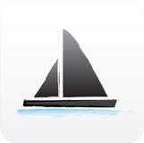 navigation de bateau Images libres de droits