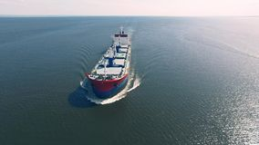 Navigation de cargo en mer banque de vidéos