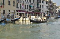 Navigation de gondole Photos stock