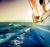 Navigation de yacht Image stock