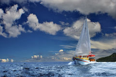 Navigation des explorateurs rêveurs photographie stock