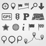 Navigation Design Elements Stock Photo