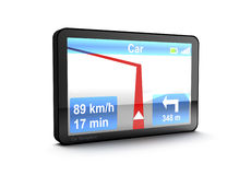 Navigation device Royalty Free Stock Photo