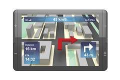Navigation device Stock Images