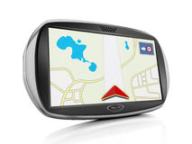 Navigation device Royalty Free Stock Images