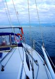 Navigation du Golfe St Vincent Images stock