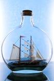 Navigation en glace Photo libre de droits