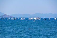 Navigation en mer de Fethiye image stock
