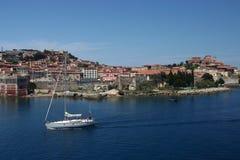 Navigation en mer Méditerranée Image libre de droits