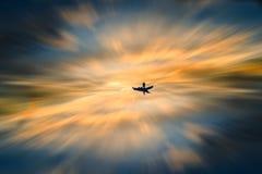 Navigation en monde des rêves images libres de droits