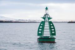 Navigation equipment of Reykjavik, Iceland stock image