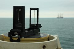 Navigation equipment ship Stock Images
