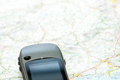 Navigation with GPS Stock Photography