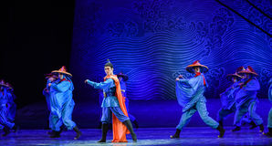 """Navigation hero-Dance drama """"The Dream of Maritime Silk Road"""". Dance drama """"The Dream of Maritime Silk Road"""" centers on the plot of two stock image"""