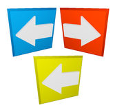 Navigation icon Stock Images